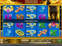 Treasures of the Pyramids GTECH Slot Slot Reels