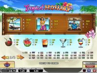 Tropical Holiday Play'n GO Slot Info