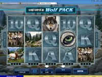 Untamed - Wolf Pack Microgaming Slot Slot Reels