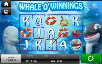 Whale O'Winnings Rival Slot main