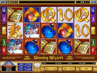 Winning Wizards Microgaming Slot Slot Reels