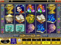 Witches Wealth Microgaming Slot Slot Reels