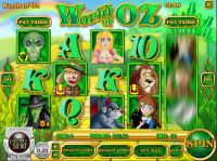 World of Oz Rival Slot Slot Reels
