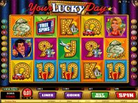 Your Lucky Day Microgaming Slot Slot Reels
