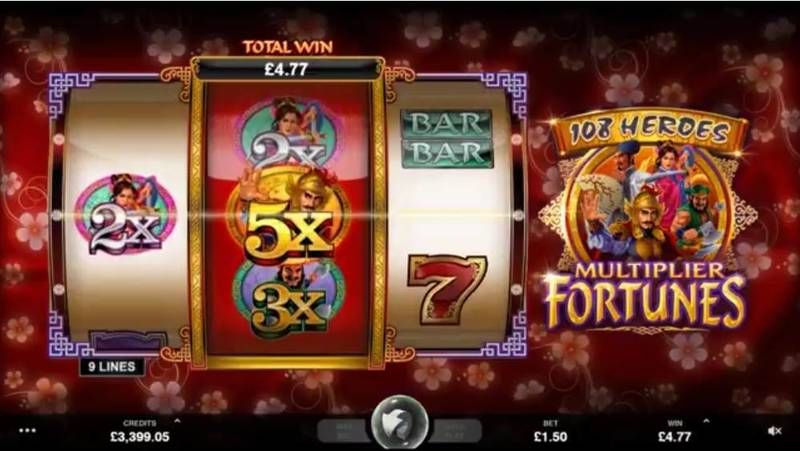 108 Heroes Multiplier Fortune Microgaming Slot Slot Reels