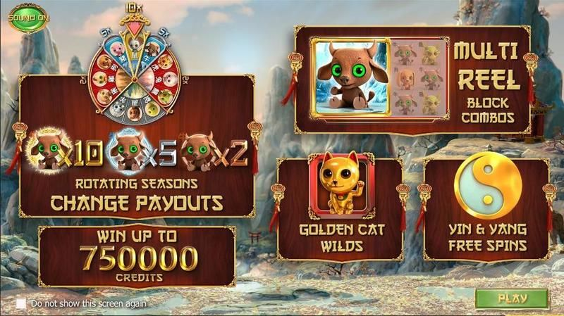 4 Seasons Betsoft Slot Info