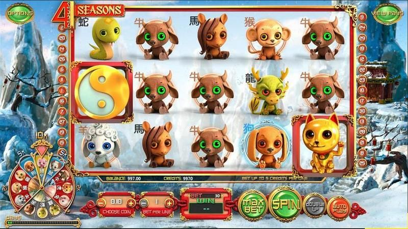 4 Seasons Betsoft Slot main