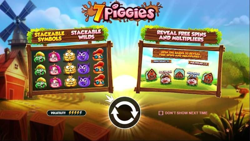 7 Piggies Pragmatic Play Slot Info