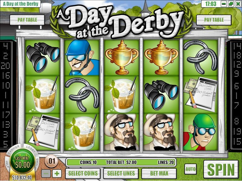 A Day at the Derby Rival Slot Slot Reels