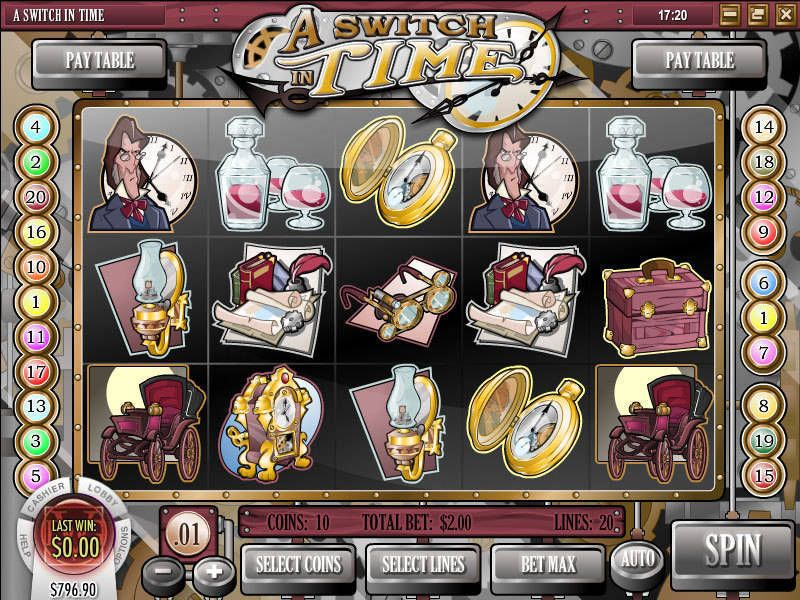 A Switch in Time Rival Slot Slot Reels