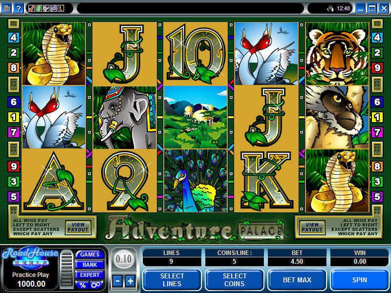 Adventure Palace Microgaming Slot Slot Reels
