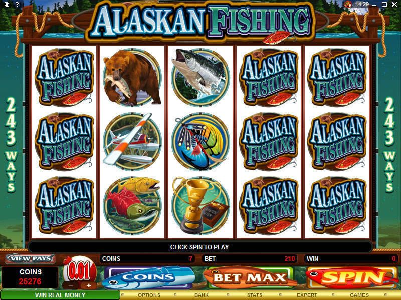 Alaskan Fishing Microgaming Slot Slot Reels