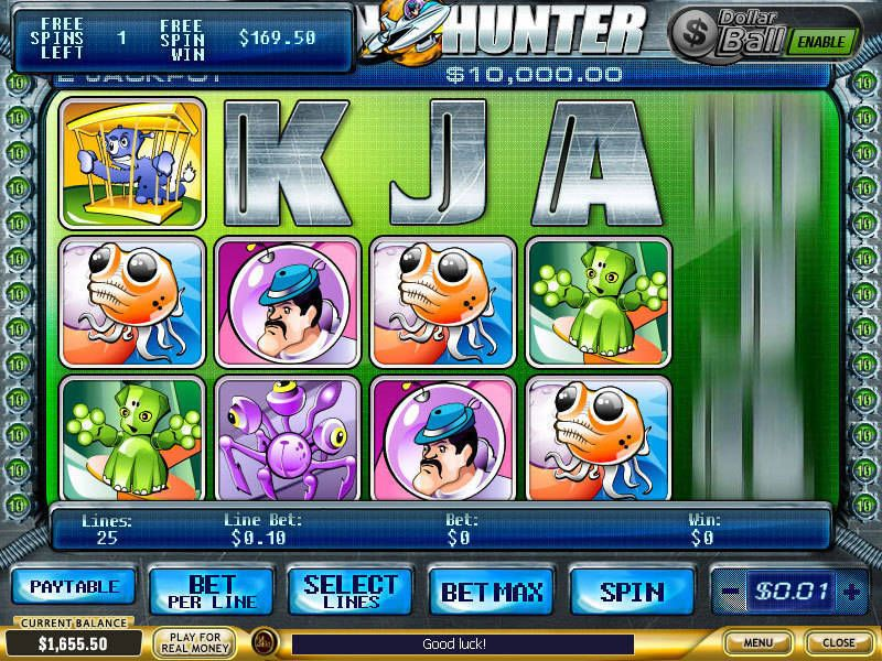 Alien hunter casino games with bonus and free spins gambling exclusion software