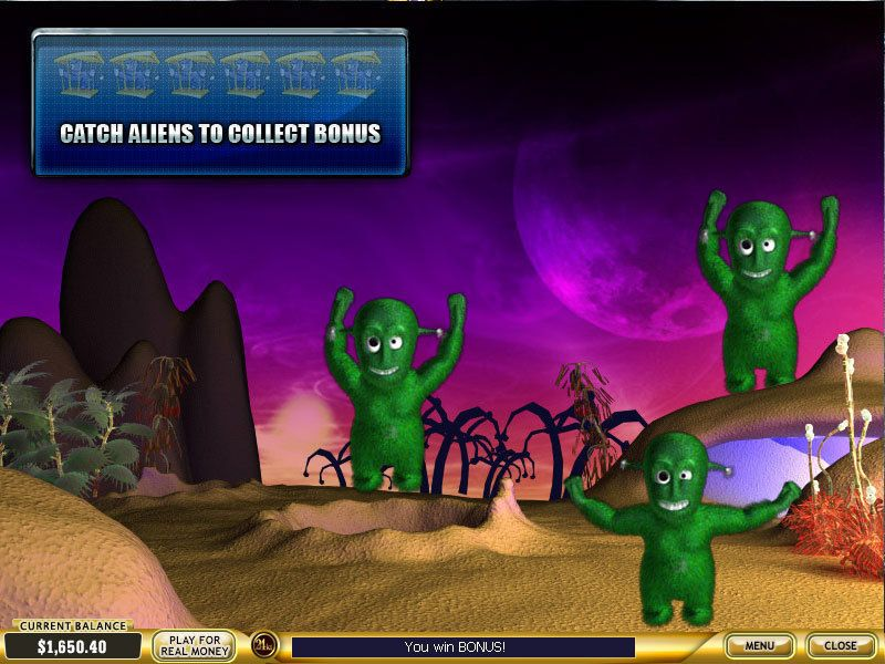 Alien Hunter PlayTech Slot Bonus 3