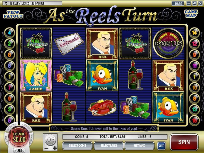As the Reels Turn 2 Rival Slot Slot Reels