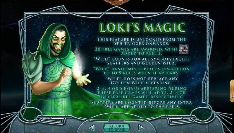 Asgard RTG Slot Free Spins Feature