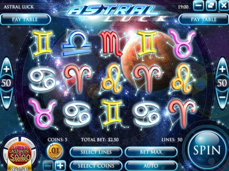 Astral Luck Rival Slot Slot Reels