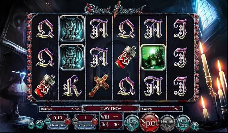 Blood Eternal BetSoft Slot Slot Reels
