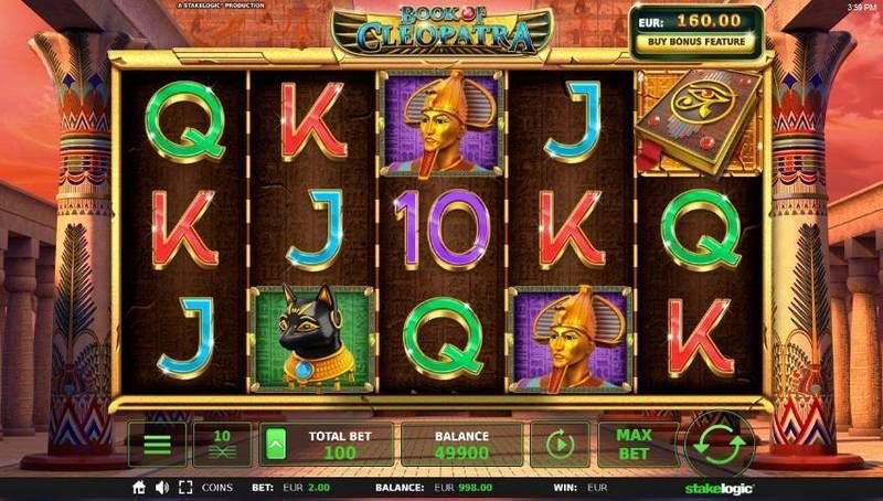 Book of Cleopatra StakeLogic Slot Slot Reels