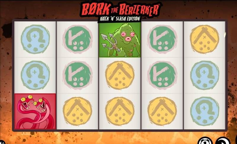 Bork the Berzerker Hack 'N Slash Edition Thunderkick Slot Slot Reels