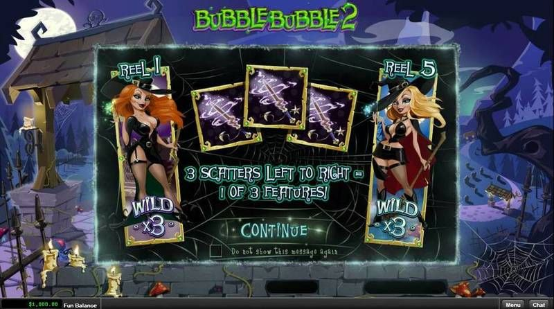 Bubble Bubble 2 RTG Slot Info