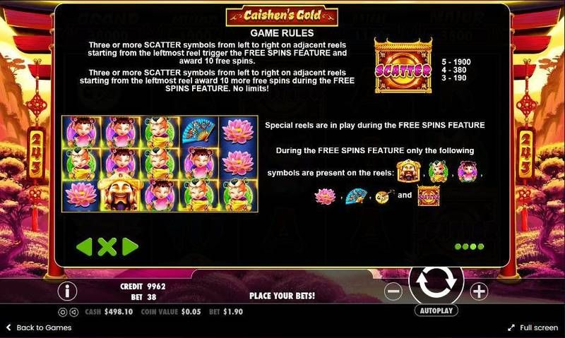 Caishen's Gold Pragmatic Play Slot Bonus 2
