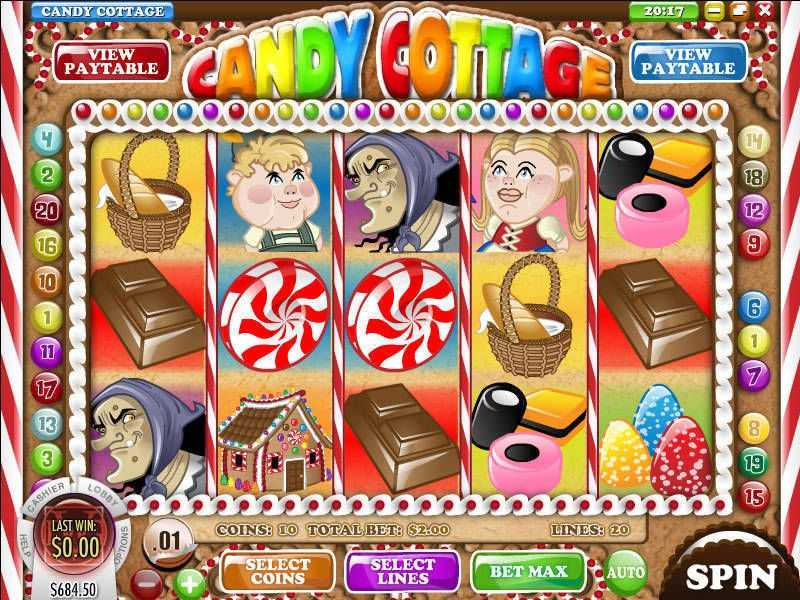 Candy Cottage Rival Slot Slot Reels
