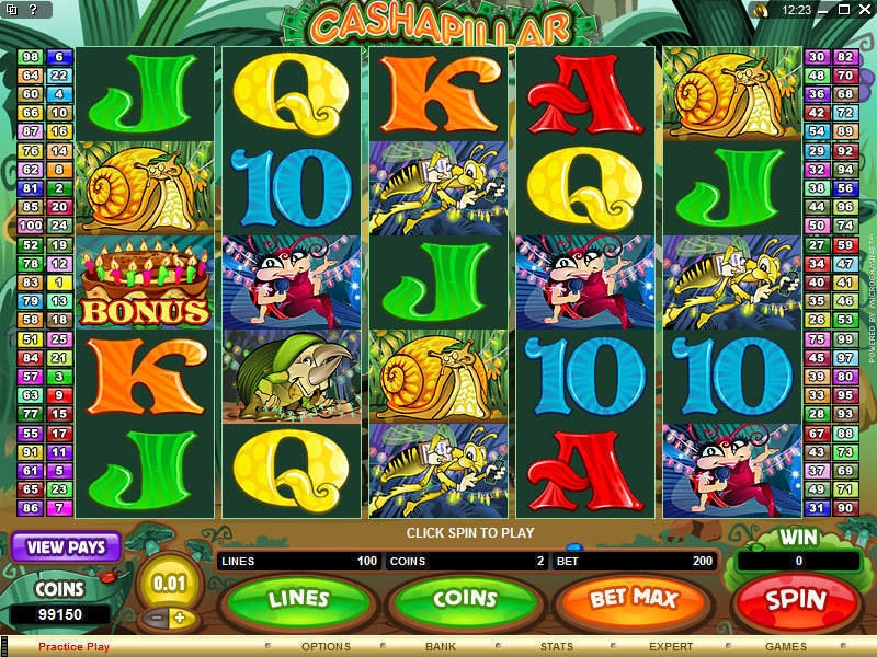 Cashapillar Slot Review – Play the Microgaming Game for Free