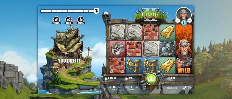 Castle Builder Microgaming Slot Slot Reels