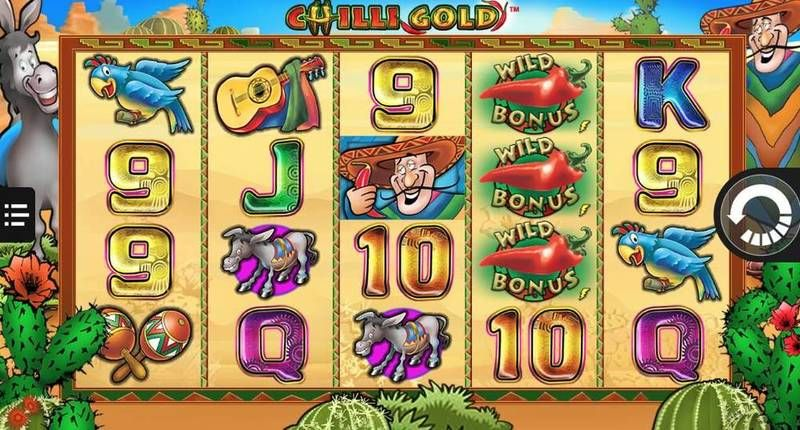 Chilly Gold NextGen Gaming Slot Slot Reels