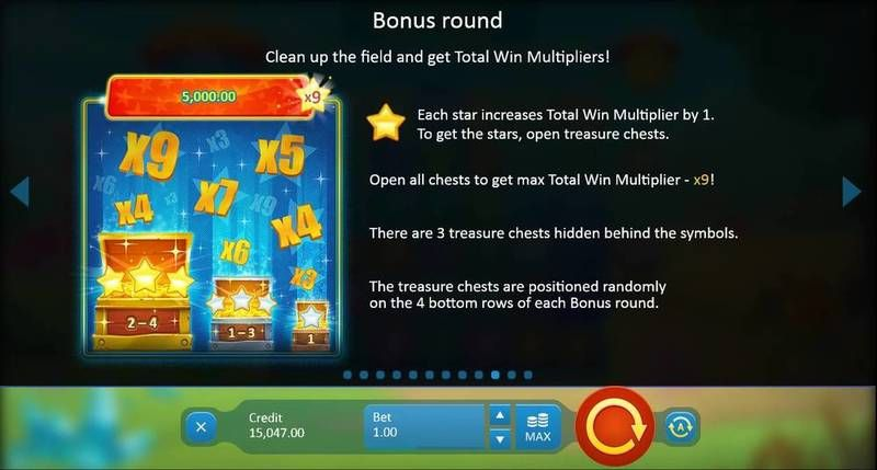 Crystal Land Playson Slot bonus4