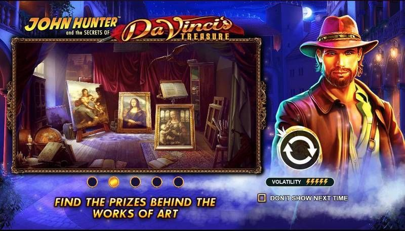 Da Vinci's Treasure Pragmatic Play Slot Info
