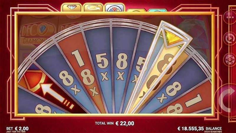 Deco Diamonds Microgaming Slot Bonus 1