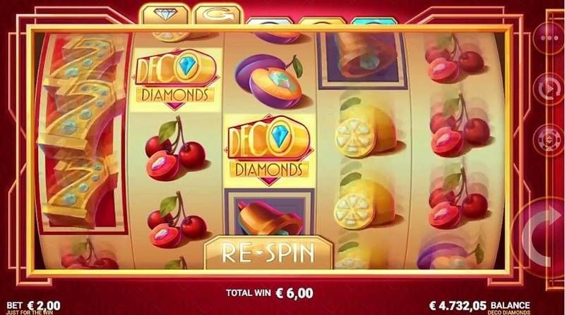 Deco Diamonds Microgaming Slot Slot Reels