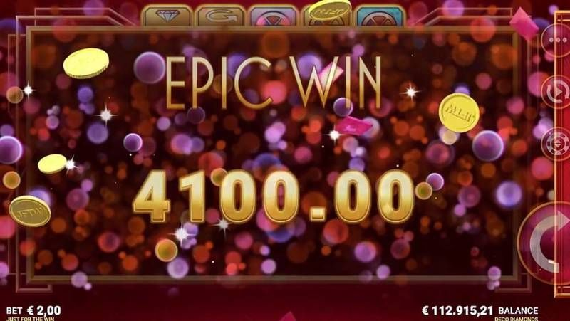 Deco Diamonds Microgaming Slot Winning