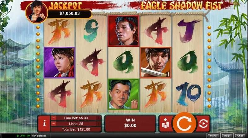 Eagle Shadow List RTG Slot Slot Reels