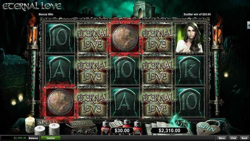 Eternal Love RTG Slot Slot Reels