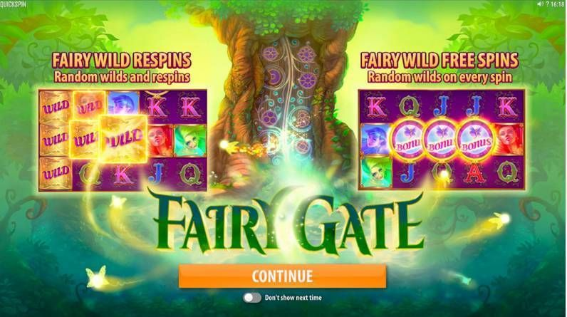 Fairy Gate Quickspin Slot Bonus 1