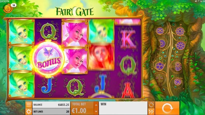 Fairy Gate Quickspin Slot Bonus 2