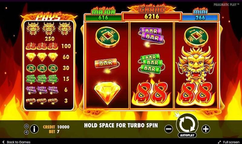 Fire 88 Pragmatic Play Slot Slot Reels