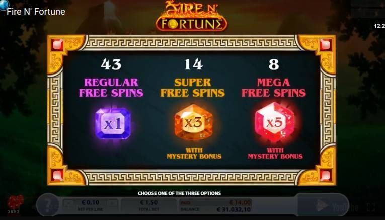 Fire N' Fortune 2 by 2 Gaming Slot Bonus 1