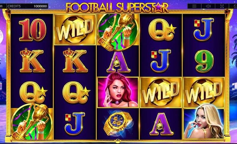 Football Superstar Endorphina Slot Slot Reels