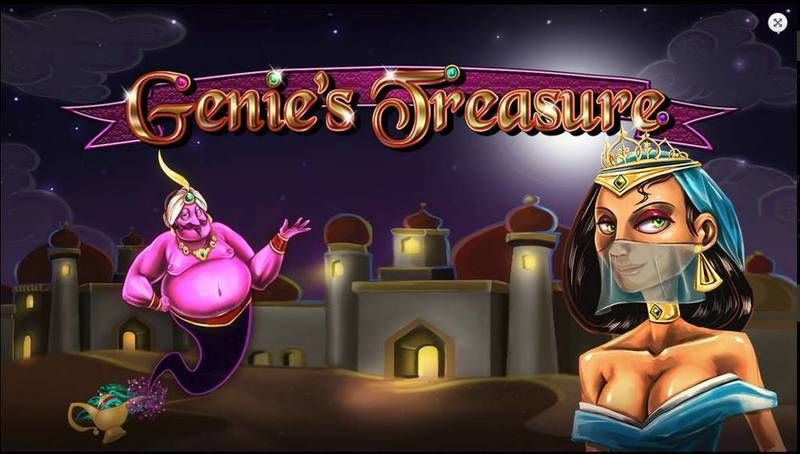 Genie's Treasure 2 by 2 Gaming Slot Info