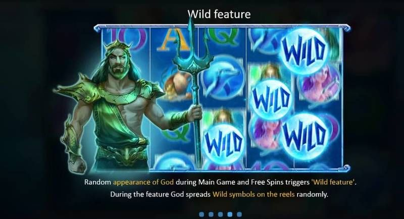 God of Wild Sea Playson Slot Bonus 1
