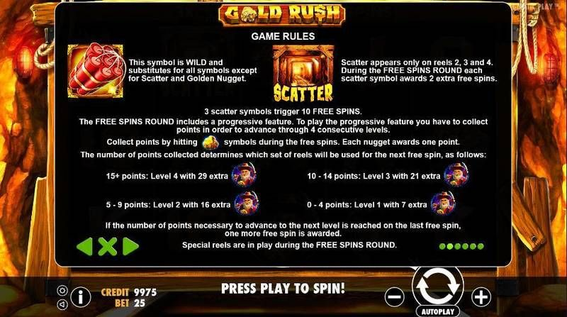 Gold Rush Pragmatic Play Slot Bonus 1