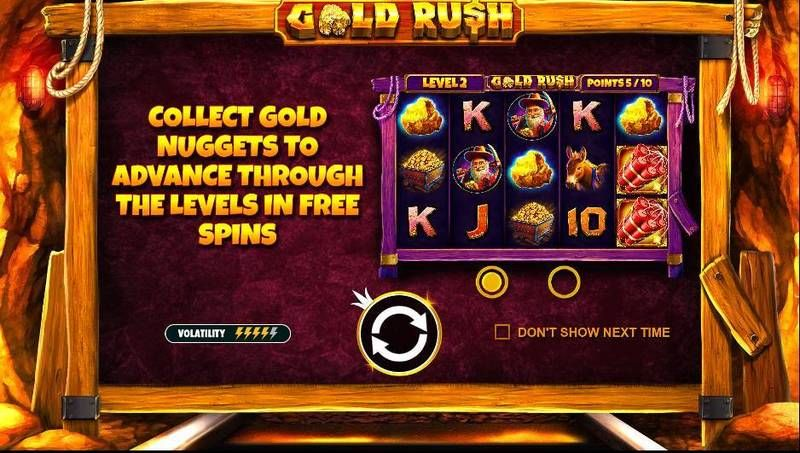 Gold Rush Pragmatic Play Slot Info