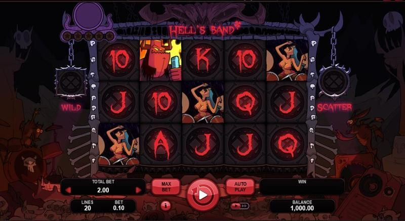 Hell's Band Slot Slot Reels