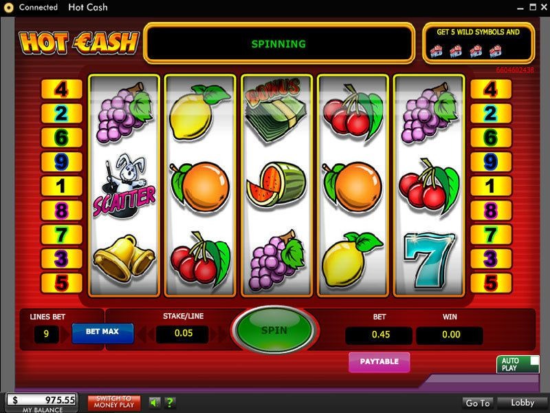 Hot Cash Slot 888 Second Screen Game Wheel Of Fortune