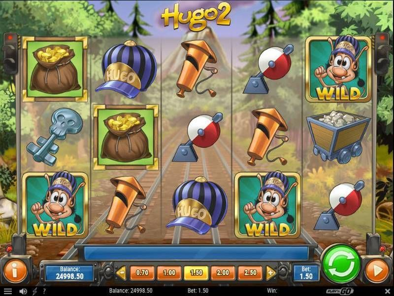 Hugo 2 Play'n GO Slot Slot Reels