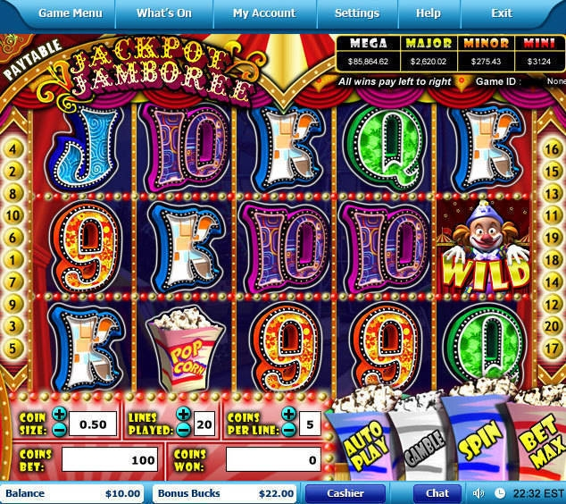 online slots with bonus